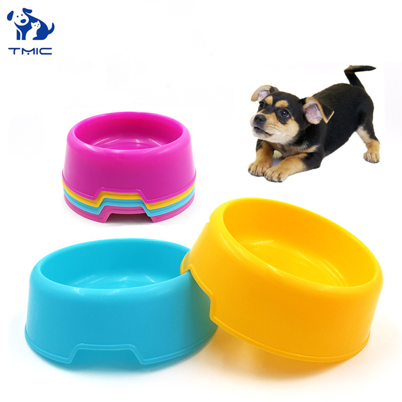 Hot Sale Cat Dog Bowls Plastic Dog Bowl Safe Non-Toxic Pet Bowl For Dog High Quality Feeding Feeder Durable Pet Feeding Supplies