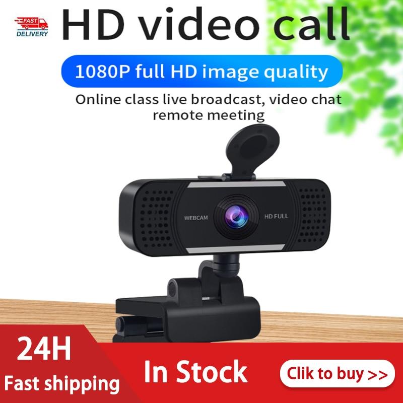 Новейшая 4K 1080P Автофокус веб-камеры компьютера С микрофоном Шум для снижения Камера USB Бесплатный накопитель для портативных ПК живой конфе...