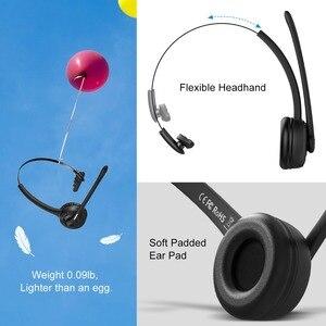 Image 3 - MPOW נייד אלחוטי Bluetooth 5.0 אוזניות ידיים אוזניות שחורות אוזניות עם מיקרופון עבור עסקים טלפון/מחשב נייד