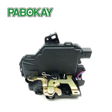 цена на Rear Right Door Lock Mechanism For VW GOLF BORA LUPO PASSAT B5 MK4 3B4839016A RR  SEAT Skoda 3B1839016 3B4839016AE 3B4839016M