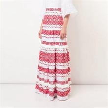 2019 New fashion long skirt high quality bohemia beach style