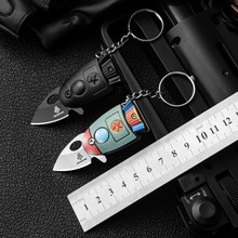 New Arrivals Mini Pocket Rocket Folding Knife Keychain CS Go Knives Hunting Military Knives Weapons Survival Tool For Man Women(China)