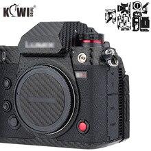 المضادة للخدش كاميرا الجسم غطاء الجلد شريط الياف الكربون لسوني RX100 السابع RX100VII RX100M7 RX100 علامة السابع كاميرات 3M ملصقا