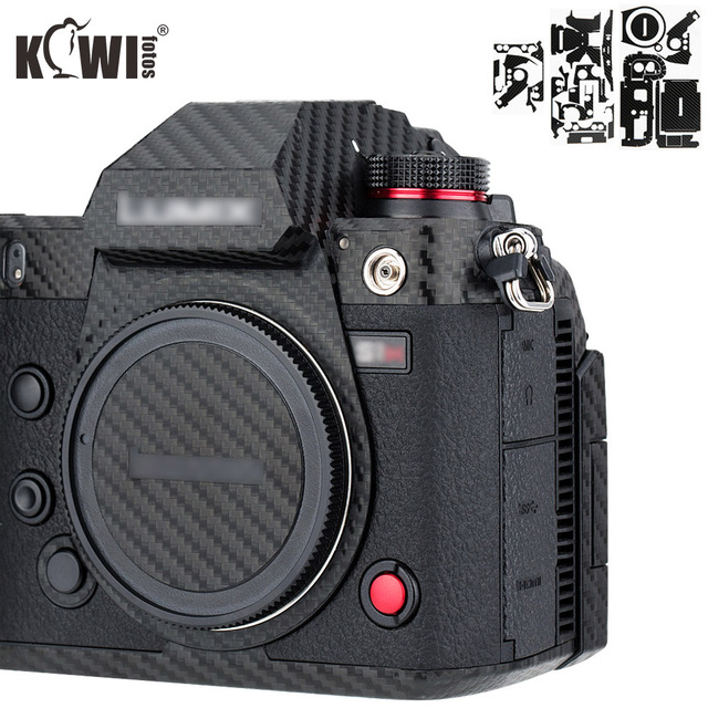 Film de Fiber de carbone de peau de couverture de corps de caméra anti rayures pour Sony RX100 VII RX100VII RX100M7 RX100 Mark VII caméras 3M autocollant