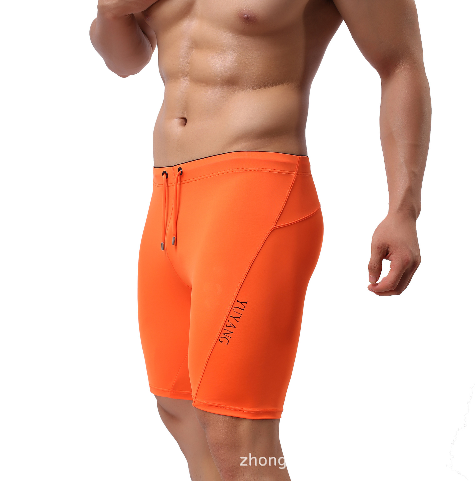 Manufacturers Direct Supply Men Multi-functional Athletic Pants Cycling Pants Swimming Trunks Wholesale 8019