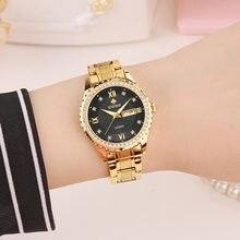 Роскошные женские часы wwoor с бриллиантами модные элегантные