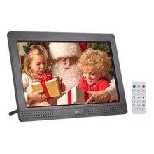 P702 7 дюймовый светодиодный цифровая фоторамка ips настольные электронные альбом 1280x800 HD поддерживает музыку фото/видео плеер/Будильник/часы