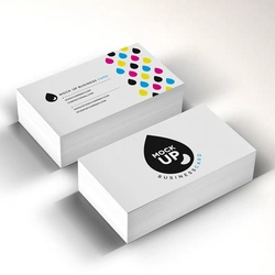 cheap business card print 300gsm matte coated paper visit card name card printing