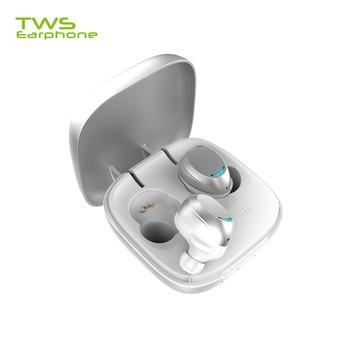 TWSearphone U9 Noise Canceling Earphone Wireless Headphone High Capacity Earbuds VS QCY With Mic Handfree Earset Sport Headset