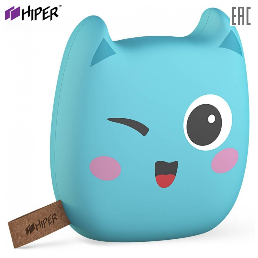 Power Bank HIPER ZOO8000 fast charge PD QC type-c macbook charger compact power banks 8000mah 8000 mah