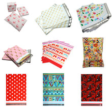 100Pcs 10*13 inch Poly Mailers 25.5x37cm Self Seal Plastic Mailing Envelope Bags Flamingo Designer Shipping Packaging Envelopes