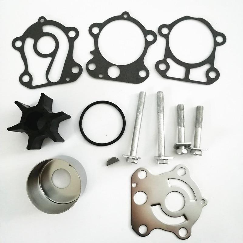 Water Pump Impeller Repair Kit for Yamaha 75 80 90 100 HP  F75 F80 F90 F100 18-3409 67F-W0078-00-00 67F-W0078-00