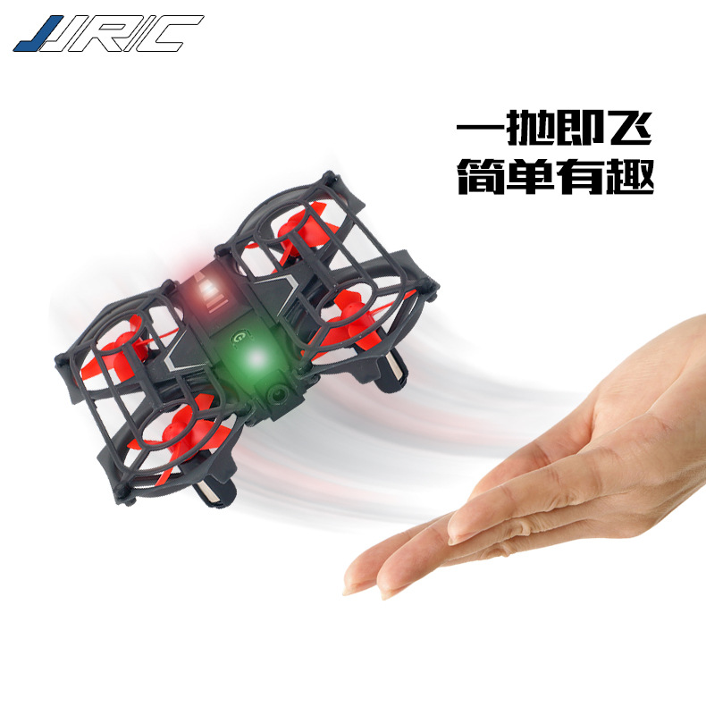Jjrc H74 Mini Gesture Sensing Unmanned Aerial Vehicle Roll Rotating Quadcopter Telecontrolled Toy Aircraft Model
