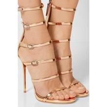 Пикантные летние туфли на высоком каблуке