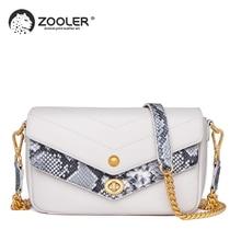 цена на ZOOLER Women Bags Authentic Women Pattern Bag Genuine Leather Women Handbag Woman purse fashion Famous Brand Shoulder Bags NEW
