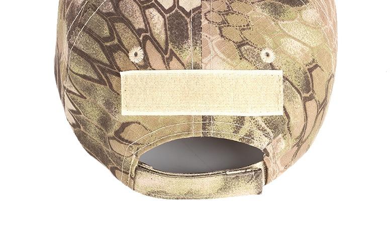 17 Colors Camo Men's gorras Baseball Cap Male Bone Masculino Dad Hat Trucker New Tactical Men's Cap Camouflage Snapback Hat 2020 23