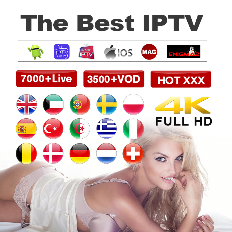 IPTV M3u Spain Germany Subscription 1 Year IPTV Adult Xxx Reseller Panel 4k Portugal Turkey Free Test For Android Enigma2 Mag
