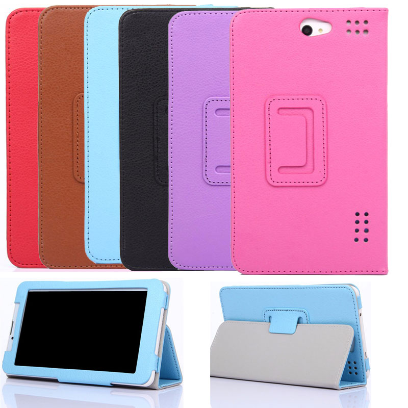 Magnetic Cover For Navitel A737 T700 A735 3G 7 Inch Tablet PU Leather Case image