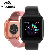 Makibes BR7 Smart watches Men Wearable Devices Smart Electronics Waterproof 18 Sports modes Blood Pressure clock Fitness Tracker