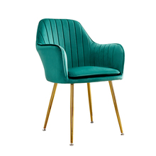 Nordic Ins Net Red Desk Chair Dining Chair Light Luxury Simple Home Cafe Back Makeup Nail Stool