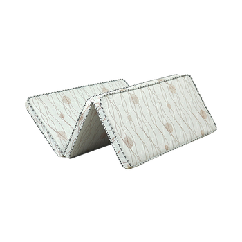 Natural Coconut Fiber Mat Foldable Single Mattress /Tatami for Bedroom/Home/Hotel with Removable & Breathable Cover
