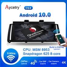 Qualcomm 64G IPS Android 10 Auto Radio GPS pour BMW X4 X3 F25 F26 NBT CIC système de Navigation stéréo récepteur BT dvr pas de lecteur DVD