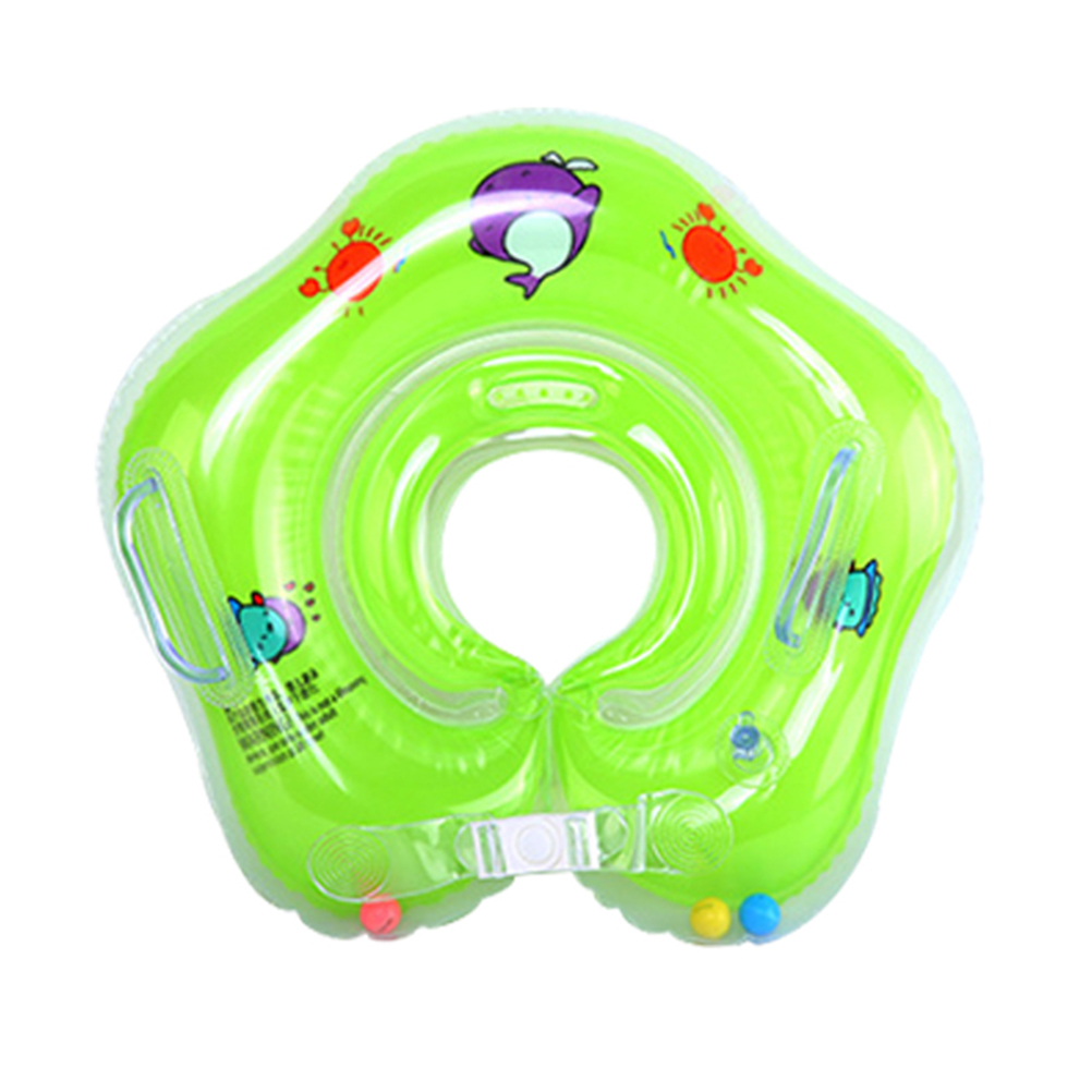 Swimming Baby Pools Accessories Baby Inflatable Ring Baby Neck Inflatable Wheels For Newborns Bath Circle Safety Neck Float #10