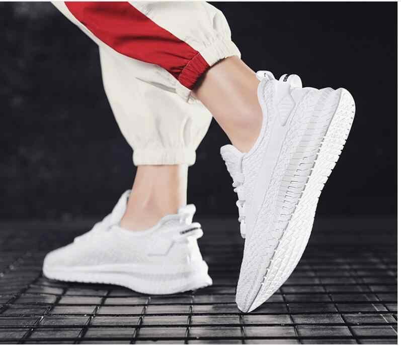 ผู้ชายรองเท้าสบายๆ Air Cushion คู่แฟชั่นรองเท้าผ้าใบ Unisex Top รองเท้า Zapatos De Hombre สบายรองเท้าผู้ชาย