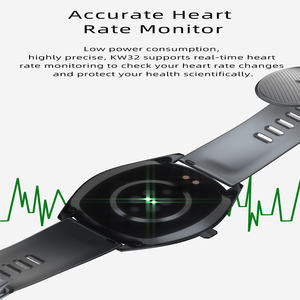 Image 2 - 2020 K33 Smart Watch men 1.28 Full Touch Screen 460mAh Long Standby 8 Sport Mode Heart Rate Monitor Smartwatch For Andriod IOS