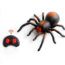 Halloween Simulation Spider Shock Toys Infrared Remote Control Trick Funny Disgusting Insects Props Electric
