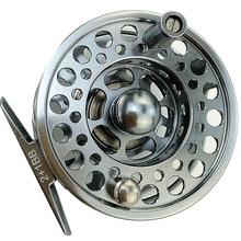 Twinfish fly fishing reel 3/4 5/6 7/8 9/10 CNC machining metal flying wheel ball bearings 2+1 Ratio 1:1 gun color reel цена
