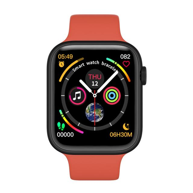 F20 Smart Watch Bluetooth Gọi Theo Dõi Đồng Hồ Đo Nhịp Tim Phát Hiện Nhiệt Độ PK IWO 8 12 F10 W68 W34