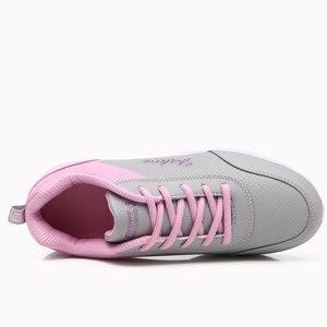Image 5 - Zapatos informales de plataforma para mujer, zapatillas de estilo coreano, planas, para primavera y verano, 2020, gran oferta
