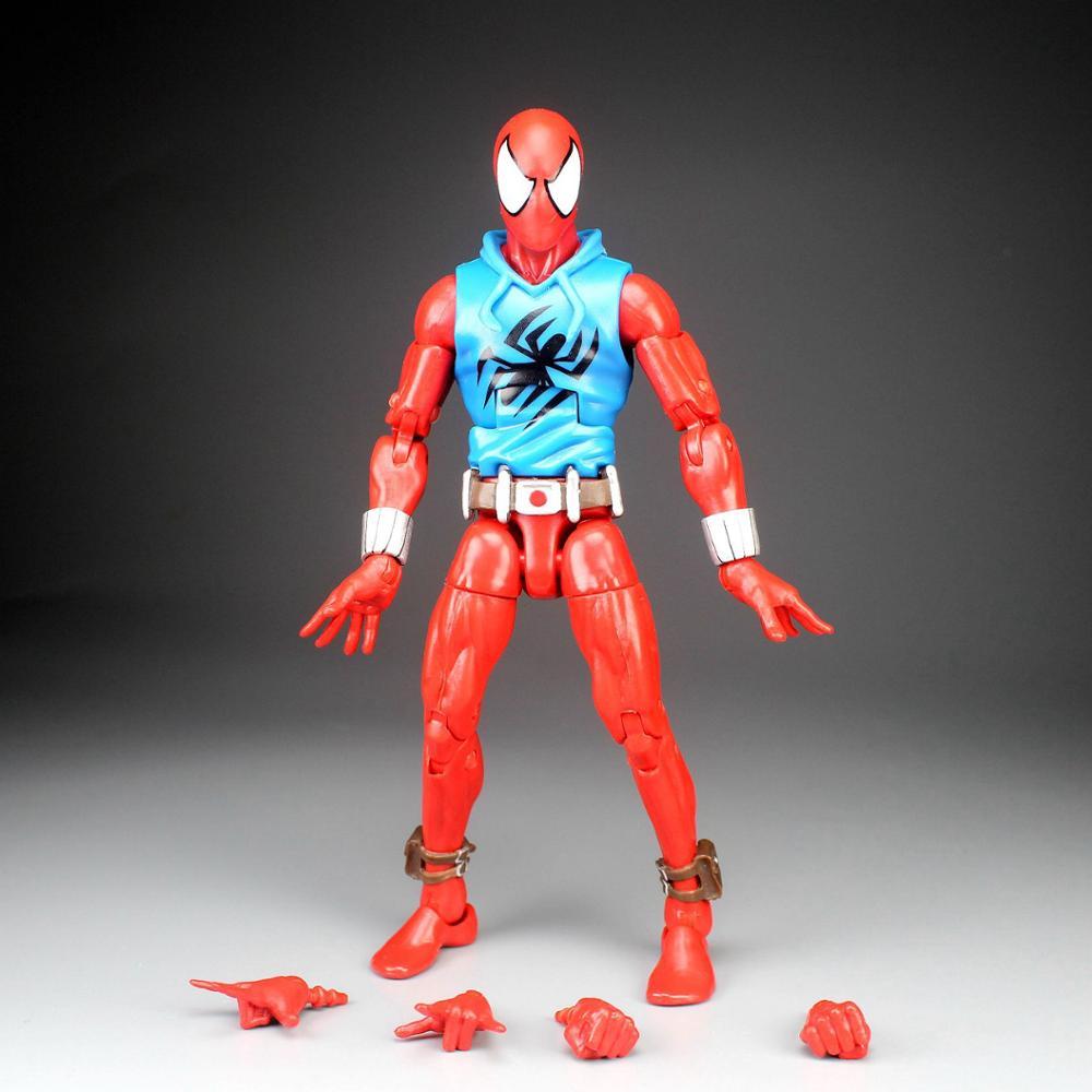 """Symbiote Black Spider-Man Marvel Legends Kraven 2pk 2019 6/"""" loose action figure"""