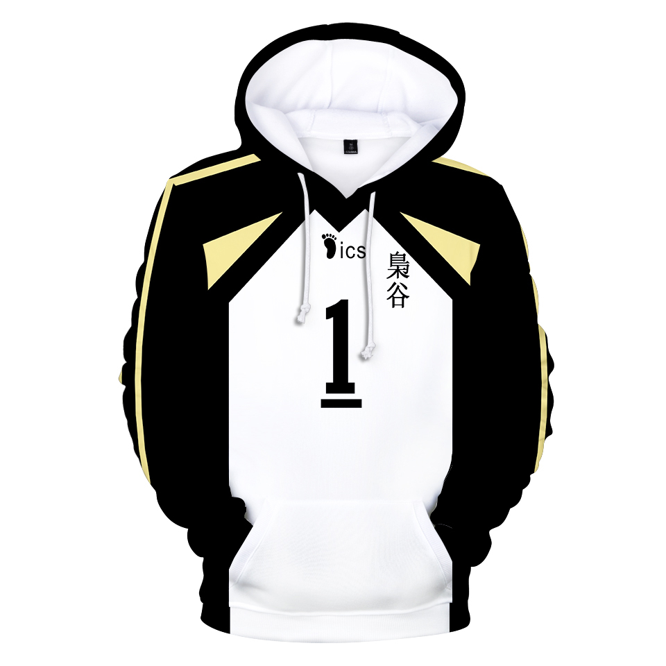 Haikyuu Meliodas 3D Cool Hoodies Sweatshirt Boys Girls Japan Anime Casual Hoodie Fashion Popular Hoodies Clothes