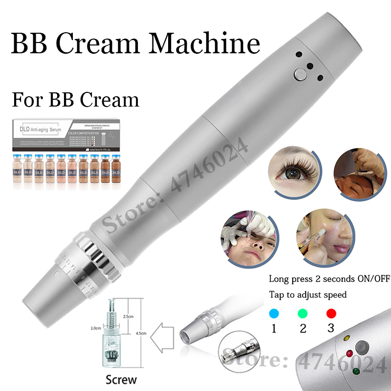 Korean Cosmetics 5ml BB Cream Glow Machine Meso White Serum Foundation Beauty BB Cream Machine Pen For BB Serum Acne Anti-Aging