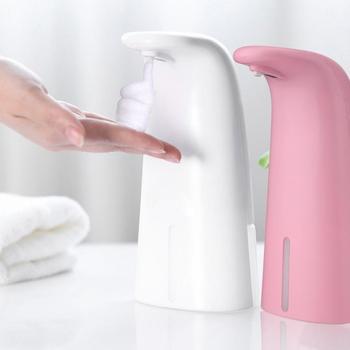 Automatic Foam Soap Dispenser Smart Liquid Soap Dispenser Contactless Infrared Sensor Induction Foam Dispenser Pump intelligent 250ml liquid soap dispenser automatic contactless induction foam infrared sensor hand washing device