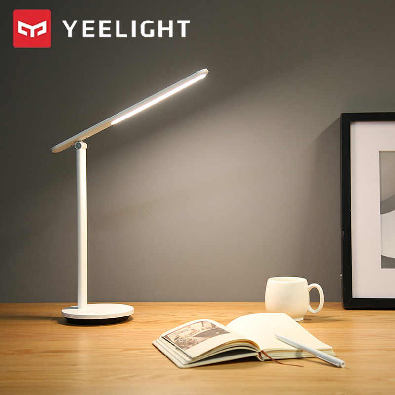 Yeelight YLTD14YL LED Lampu Meja Pro USB Tipe-C Rechargeable Folding 2700-5000K 200lm Desk Light 40 jam Standby