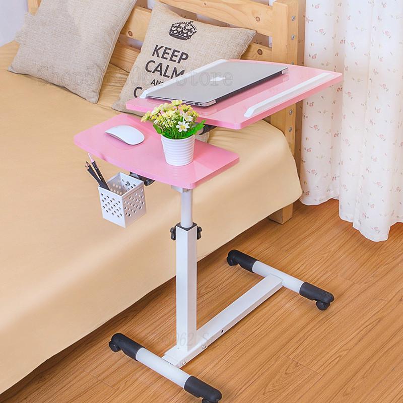 Регулируемый компьютерный стол кровать обучения Хо Применение держать компьютерный стол для ноутбука для Офис Применение складной мобиль...
