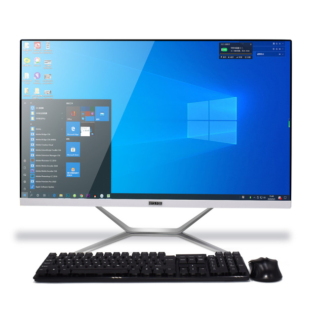 23.8inch All-in-One PC Core i7 9700F i5 9400F NVIDIA GTX1650 4GB DDR3 i3 9100F Windows 10 Linux office computer