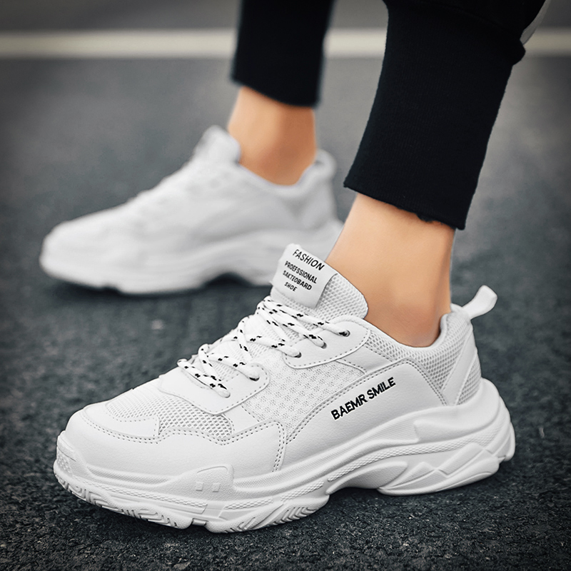 Shoes Men Running Shoes For Man 2019 White Sport Shoes Men Sneakers Zapatos Corrientes De Verano Zapatillas Deportivas Hombre