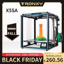 2020 Tronxy X5SA 24V yeni yükseltilmiş 3D yazıcı DIY kitleri Metal yapı levha 3.5 inç LCD dokunmatik ekran yüksek hassas otomatik tesviye