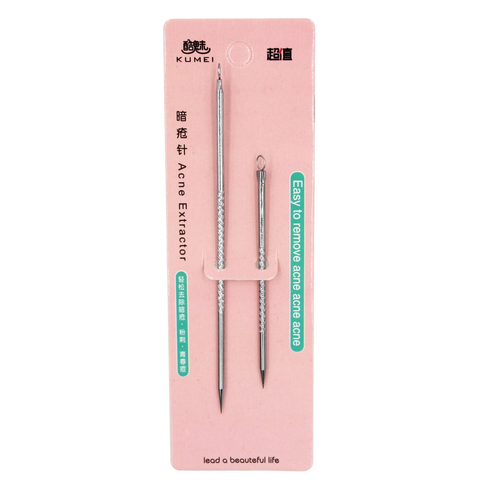 Acne Needle Set Stainless Steel Acne Needle Beauty Only Beauty Needle Remove Blackhead Pick Pox Stick 8310