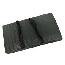 Раскладной коврик складной посадочный коврик защита рыбы грубые снасти для рыбалки на карпа темно-зеленый 100x60x0,5 см