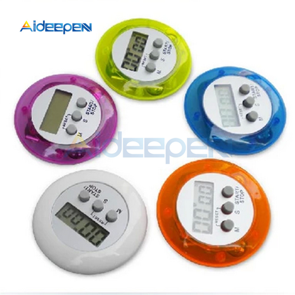 LCD Digital Kitchen Countdown Magnetic Stopwatch Timer Back Stand Cooking Timer Count UP Alarm Clock Kitchen  Cooking Tools