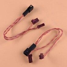 Adapter-Plug Speaker Tweeter W205x253 Mercedes-Benz Cable-Y-Splitter GLC Beler 2pcs C-Class