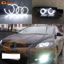 For Mazda CX-7 cx 7 2006 2007 2008 2009 2010 2011 2012 Excellent smd led angel eyes Ultra bright DRL halo ring lnk362gn smd 7