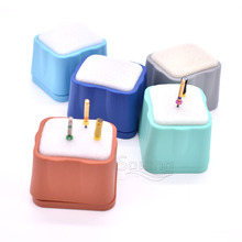 Dental Endo Cleaner Autoclavable Block Holder For Endodontic Files Root Canal Drills Dentist Tools Files Holder Reamer Box