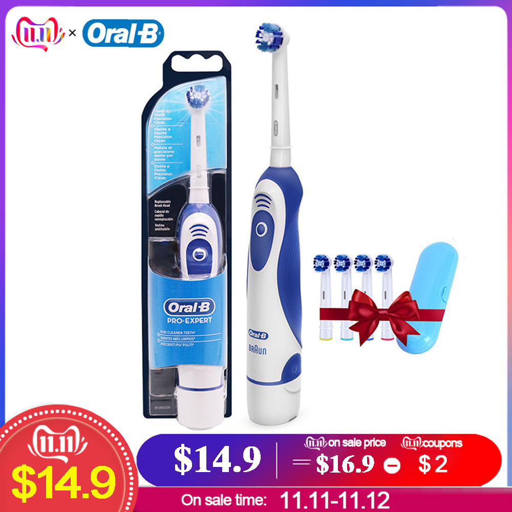 Oral B DB4010  2D Toothbrush Teeth Whitening Rechargeable Tooth Brush German technology Electric Toothbrushe