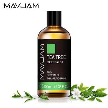 цена на 100ml Natural Tea Tree Essential Oil Diffuser Eucalyptus Sandalwood Pure Essential Oils Rose Lavender Jasmine Vanilla Aroma Oil